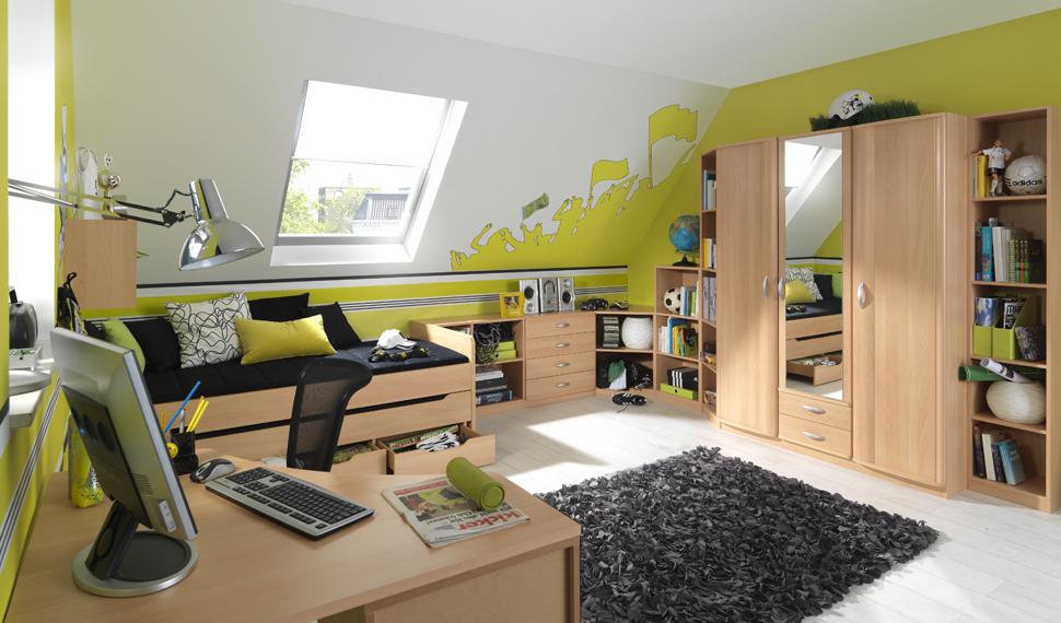 Jugendzimmer jungen dachschrägen  kinder - mr wohndesign Martin Rametsteiner